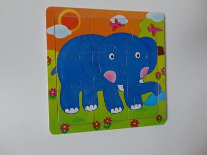 Kép Tábla kirakó - elefánt