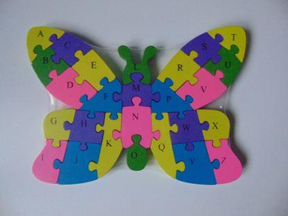 Kép Puzzle - pillangó