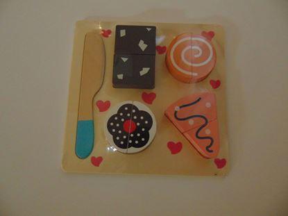 Kép Szeletelős játék, sütikkel