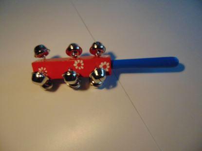 Kép Csörgő rúd - piros-kék